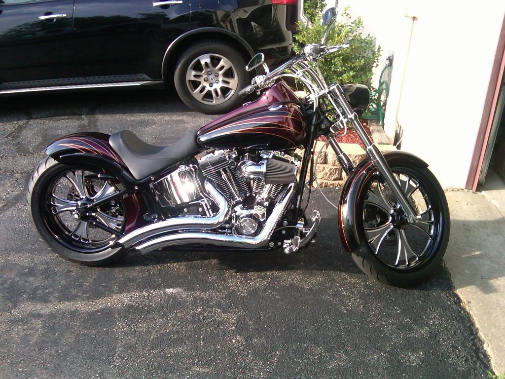 Harley Davidson Softail: Development Of A Harley Davidson Softail